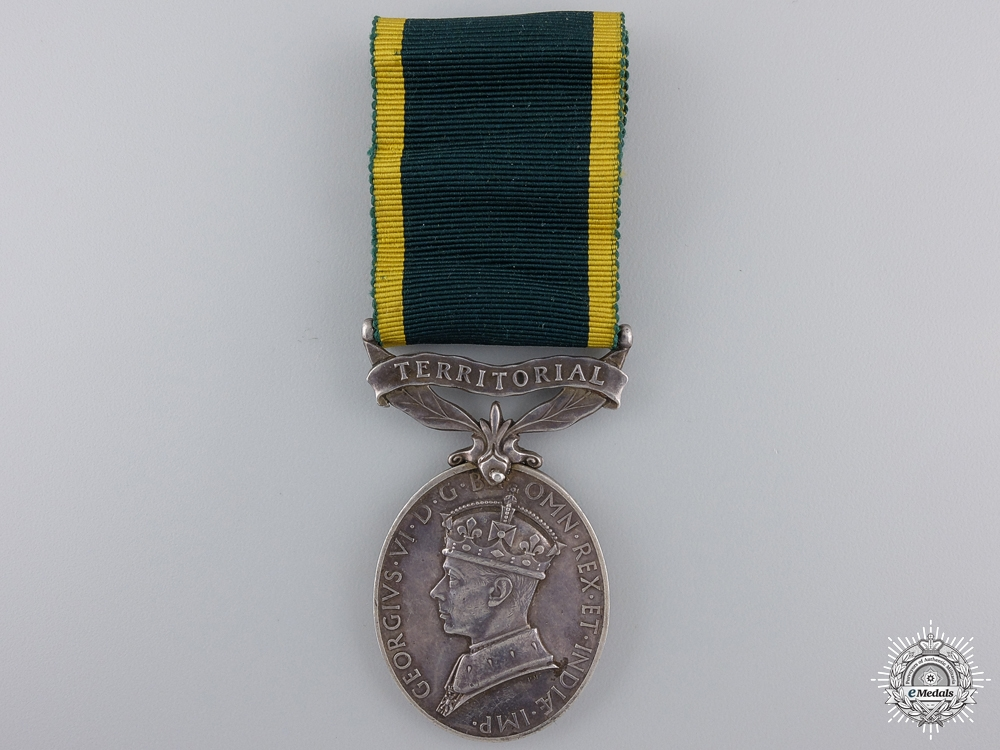 eMedals-An Efficiency Medal to the Royal Artillery