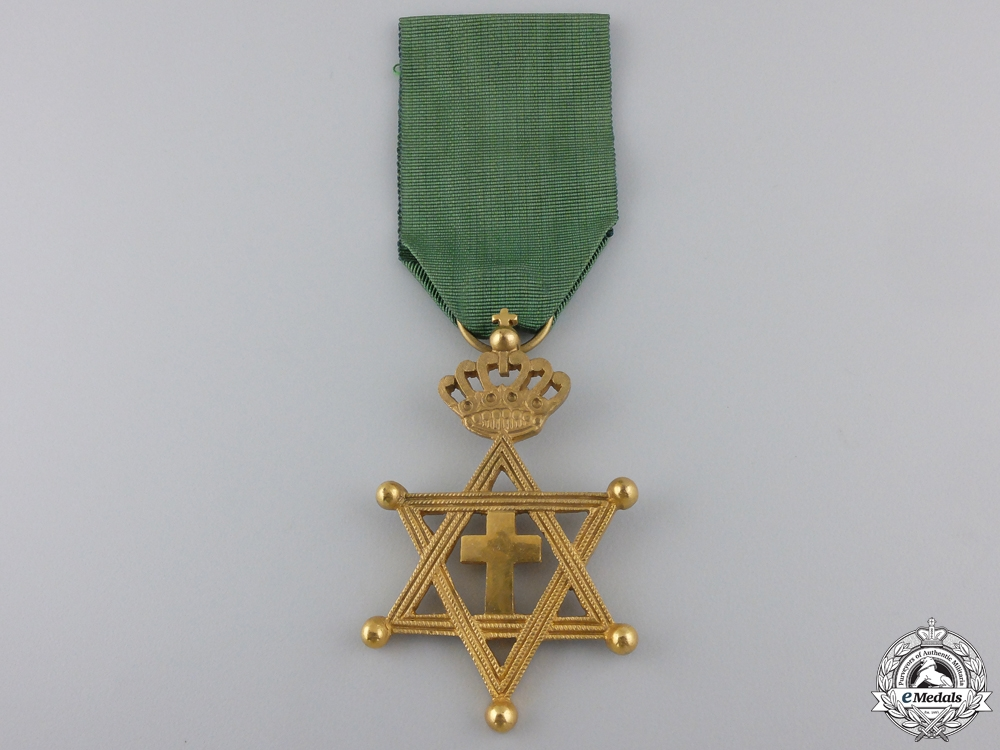 eMedals-An Ethiopian Order of Solomon's Seal; Knight