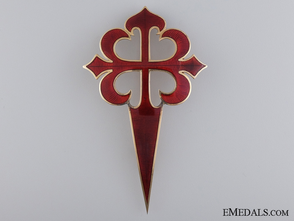 eMedals-An Exquisite Spanish Military Order of Santiago in Gold
