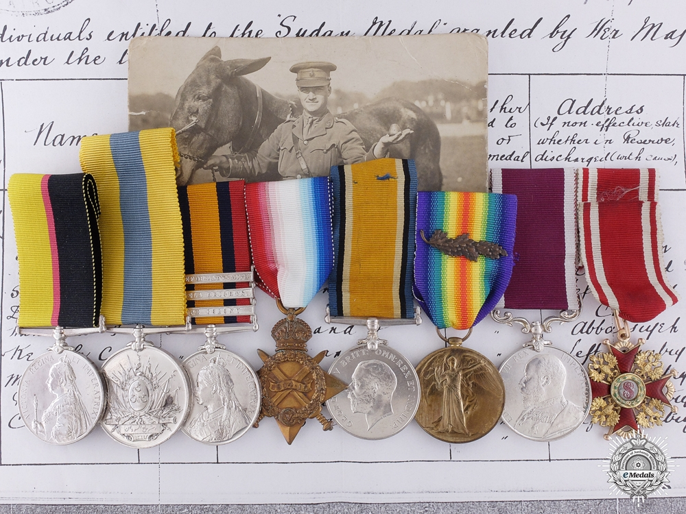 eMedals-An Extensive Order of Stanislaus Group to the Army Veterinary Corps