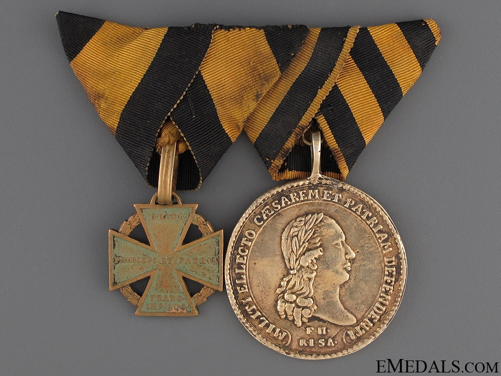 eMedals-An Extremely Rare Olm¡_tzer Milit¡_rmedaille 1796