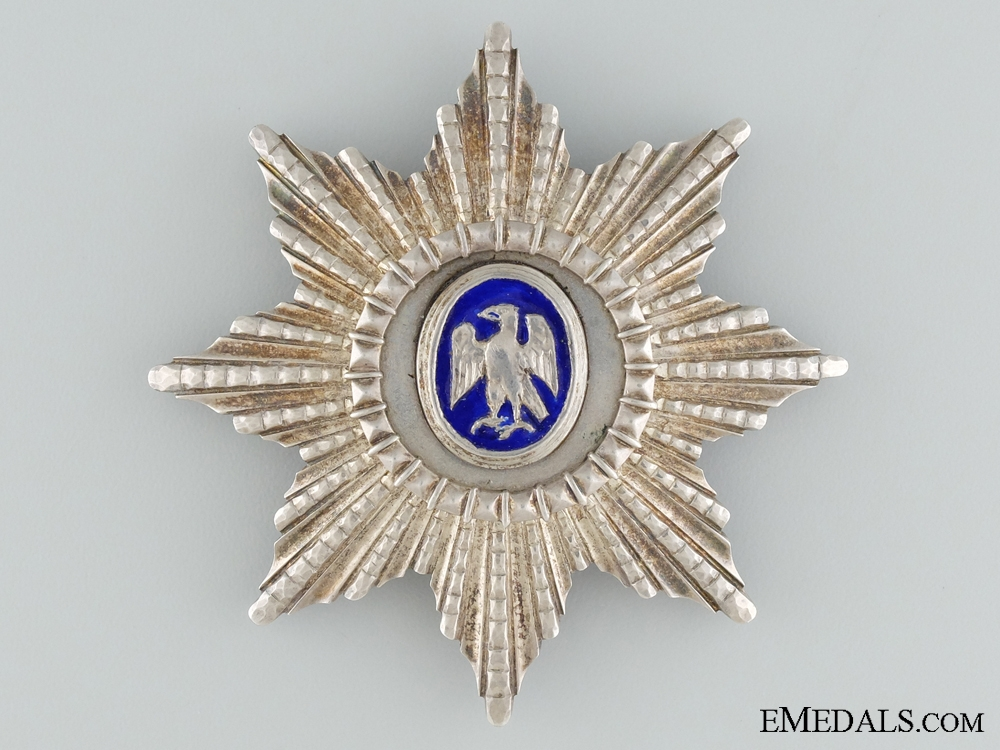 eMedals-An Icelandic Order of the Falcon; Grand Officer's Star