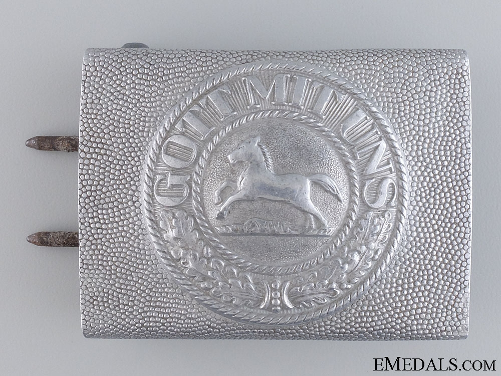 eMedals-An Imperial Brunswick Police Belt Buckle