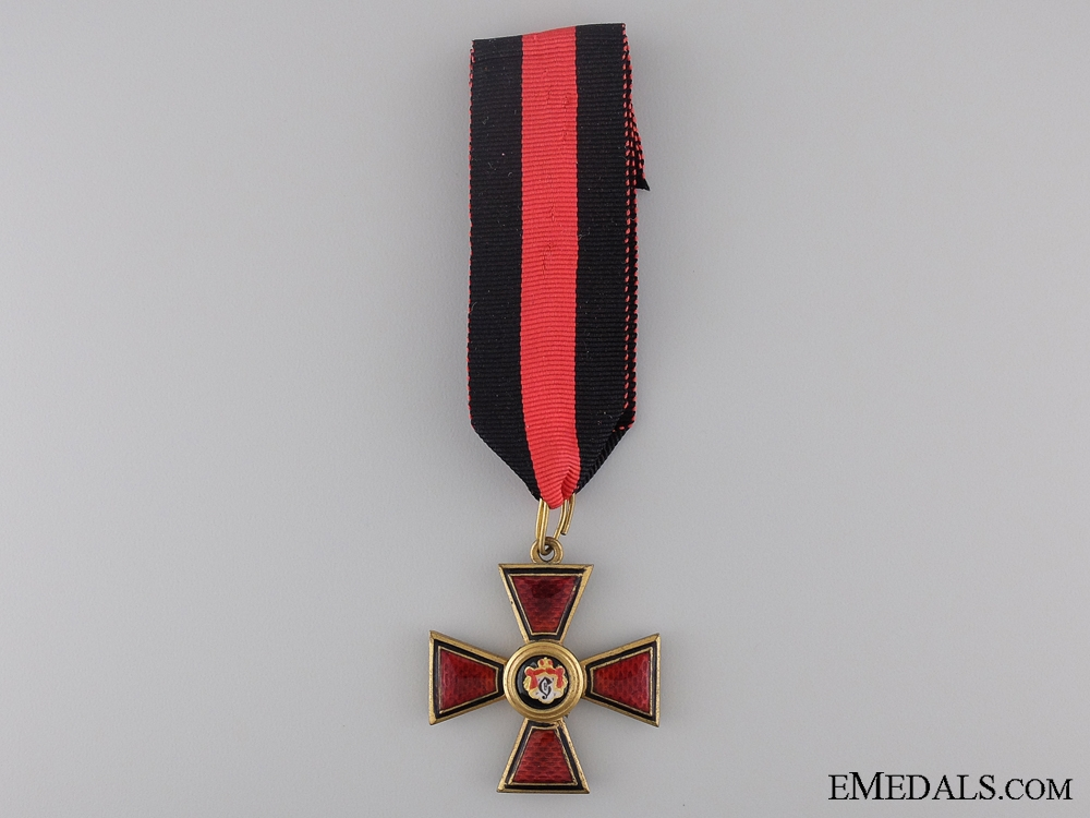 eMedals-An Imperial Russian Order of St. Vladimir; Civil Division, Fourth Class