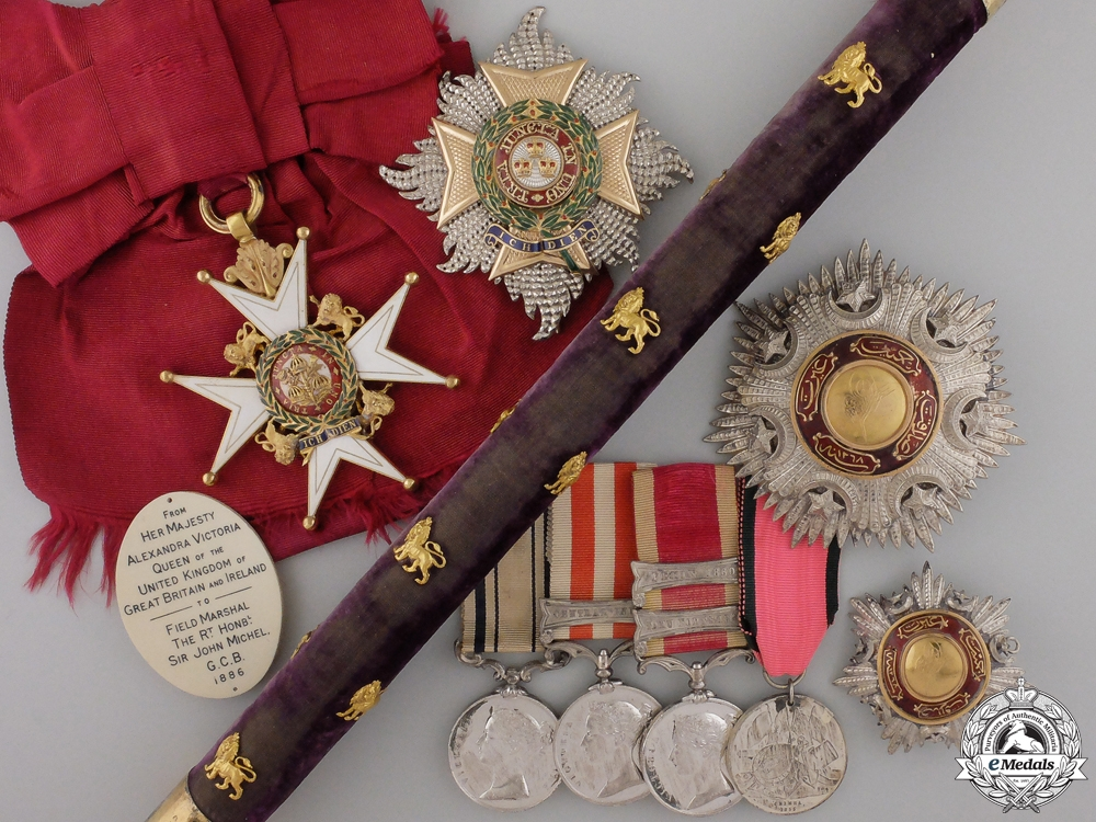 eMedals-An Important Group of Awards to the Colonel of the 86th Foot