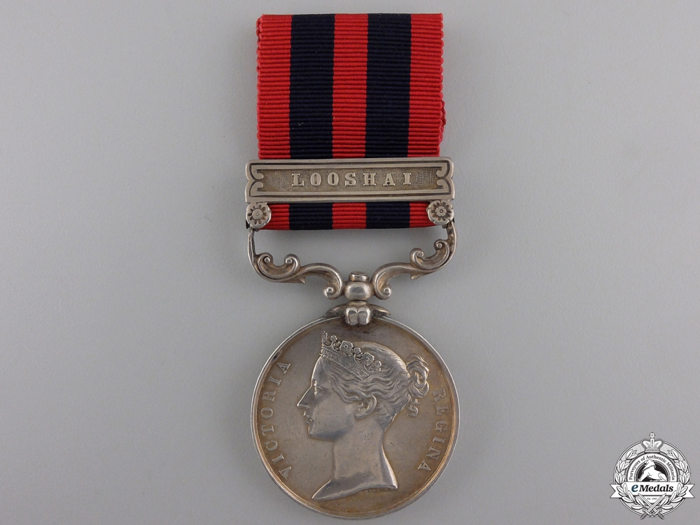 eMedals-An India General Service Medal 1854-1895 for Looshai