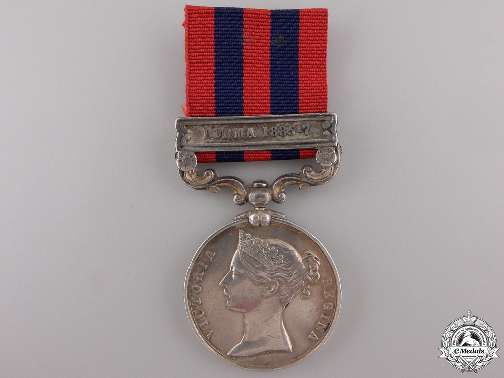eMedals-An India General Service Medal to the Burma Military Police