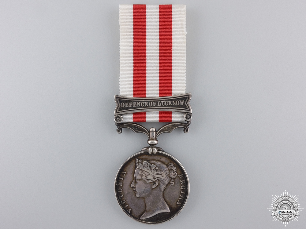 eMedals-An India Mutiny Medal to the 32nd Light Infantry; KIA at Chinhat  Consignment 21
