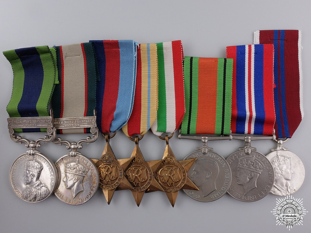 eMedals-An Indian Frontier Forces Medal Group