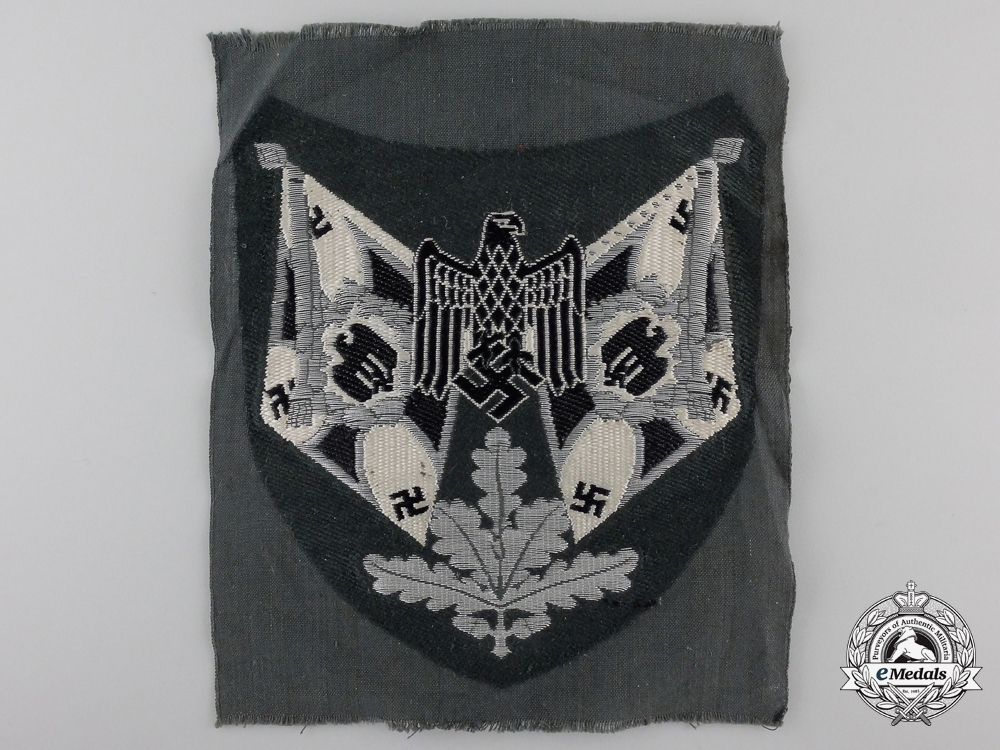 eMedals-An Infantry Flag Bearer Sleeve Insignia; Tunic Removed