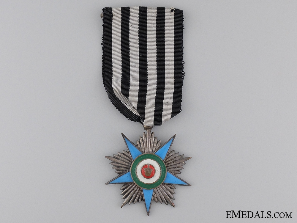 eMedals-An Iranian Order of Glory; Silver Grade Star