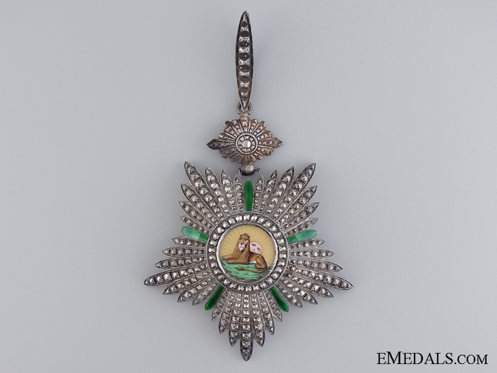 eMedals-An Iranian Order of Lion and Sun by Chobillion of Pair