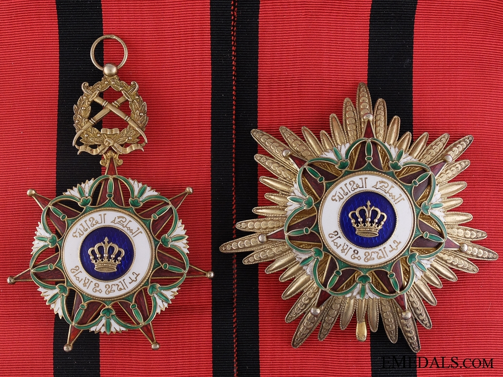 eMedals-An Iraqi Order of the Two Rivers; Grand Cross Set