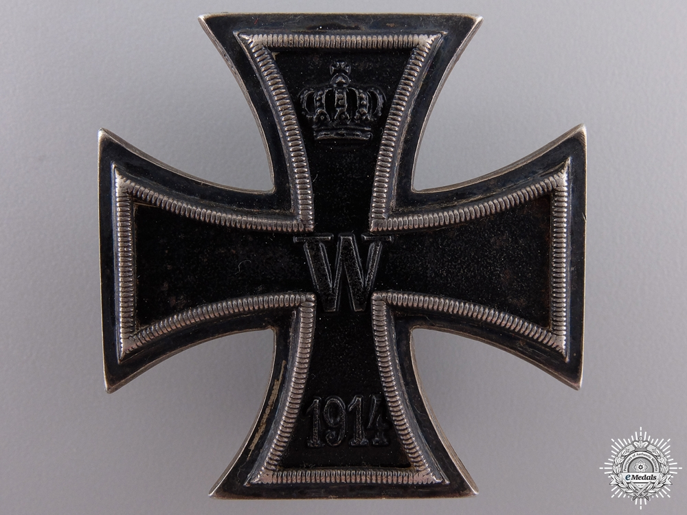 eMedals-An Iron Cross 1st Class 1914 by Sy & Wagner