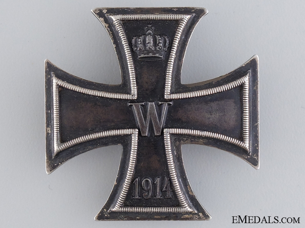 eMedals-An Iron Cross First Class; Marked 800 Silver