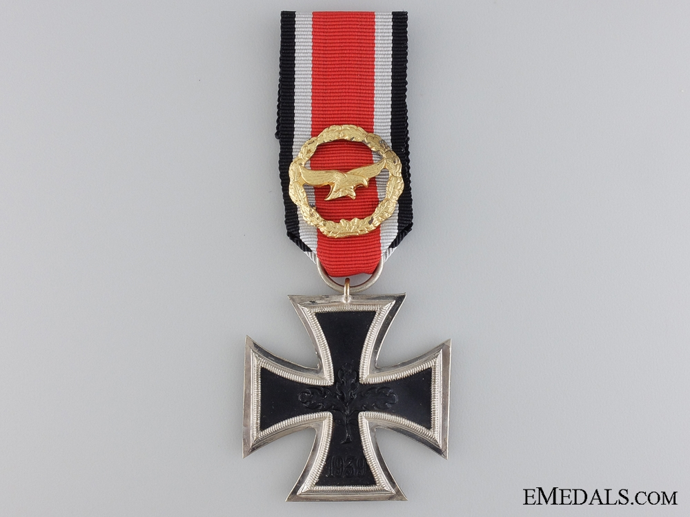 eMedals-An Iron Cross Second Class with Honor Roll; 1957 Version