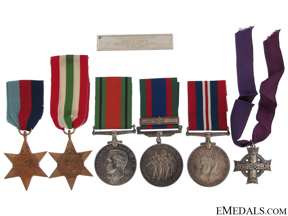 eMedals-An Italian Campaign Memorial Group