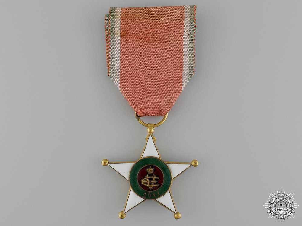 eMedals-An Italian Colonial Merit Order; Knight's Breast Badge
