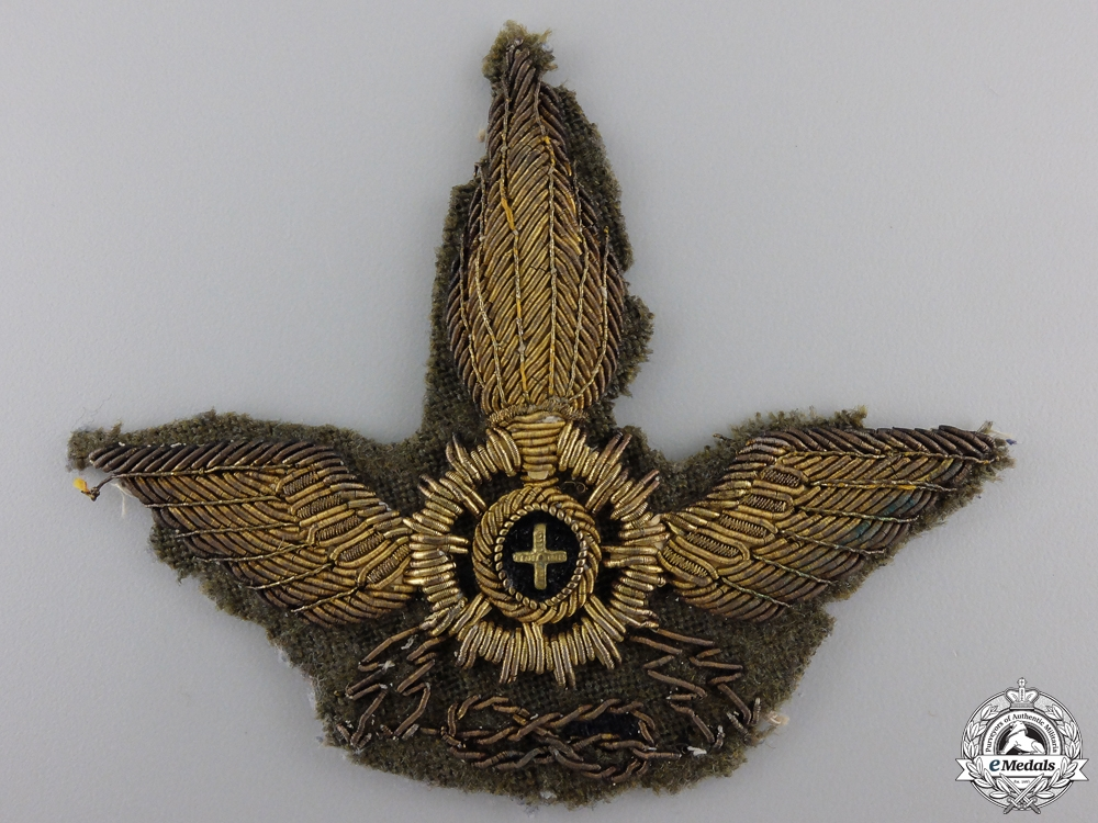 eMedals-An Italian Colonial Forces Motorized Unit Cap Badge