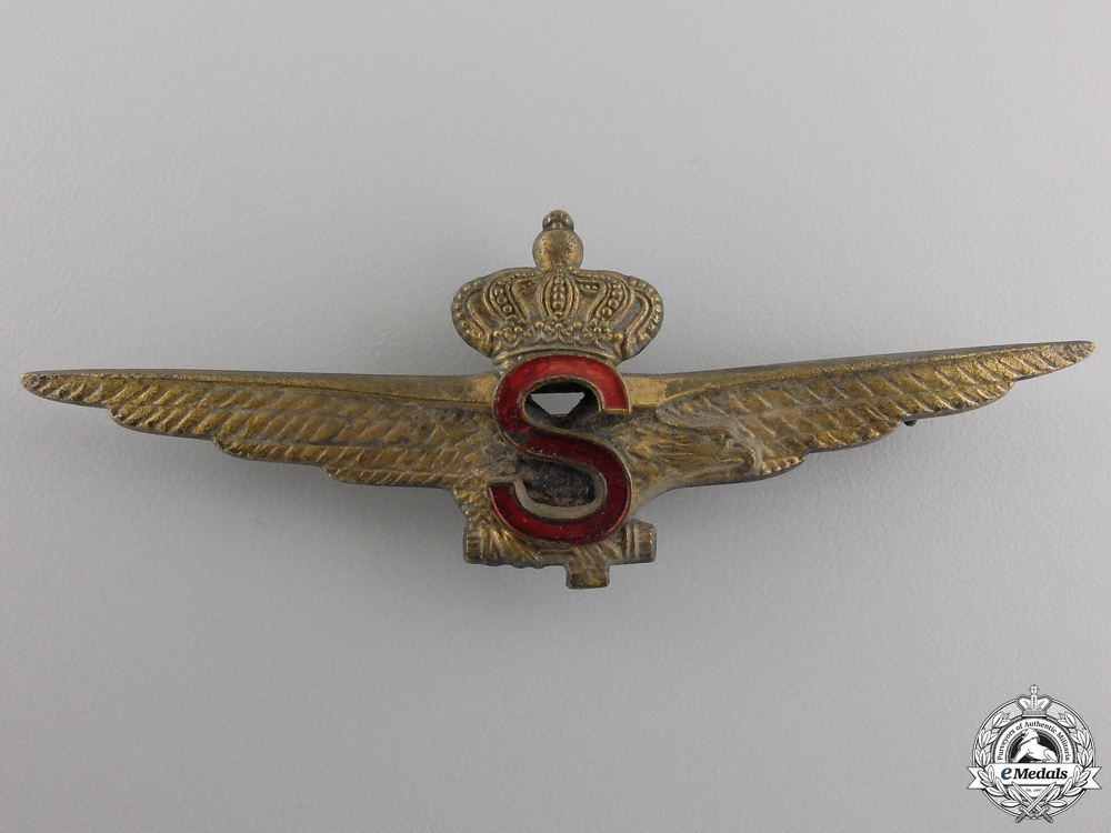 eMedals-An Italian Fascist Stratosphere Pilot Badge