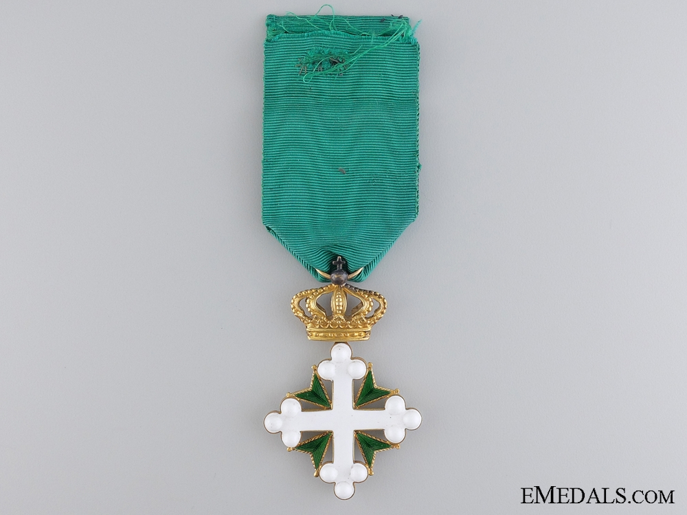 eMedals-An Italian Gold Order of St. Maurice and St. Lazarus