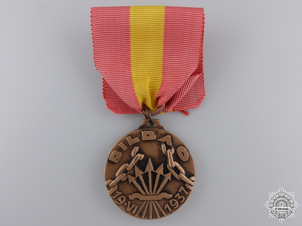 eMedals-An Italian Medal for the Spanish Campaign in Bilbao