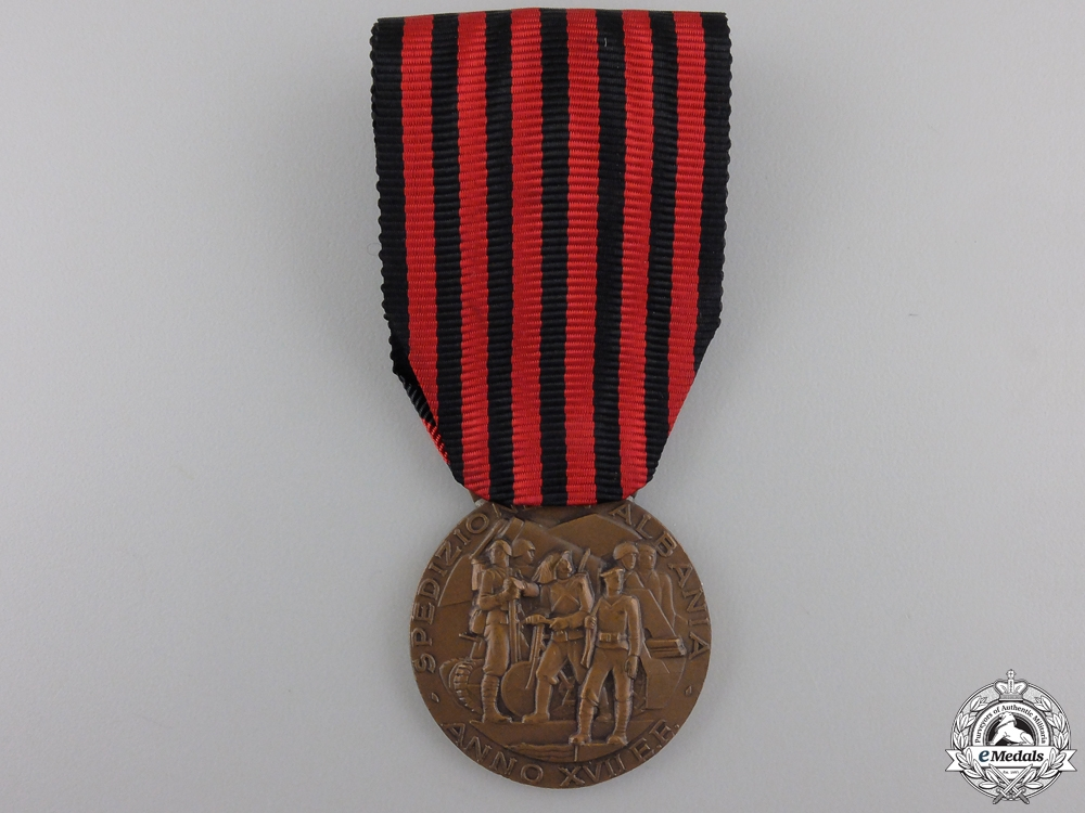 eMedals-An Italian Medal for the Expedition to Albania