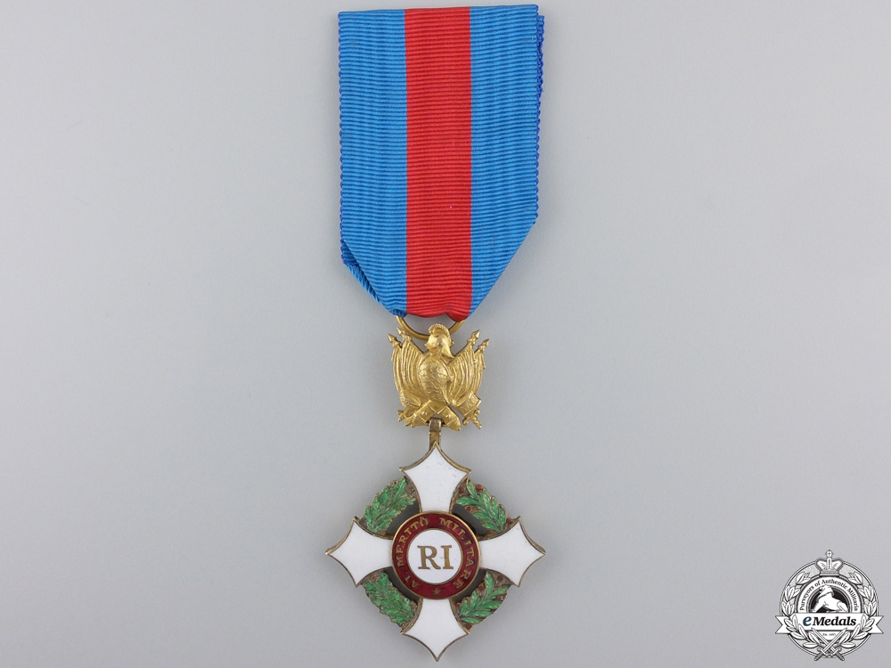eMedals-An Italian Military Order of Savoy; Officer's Cross