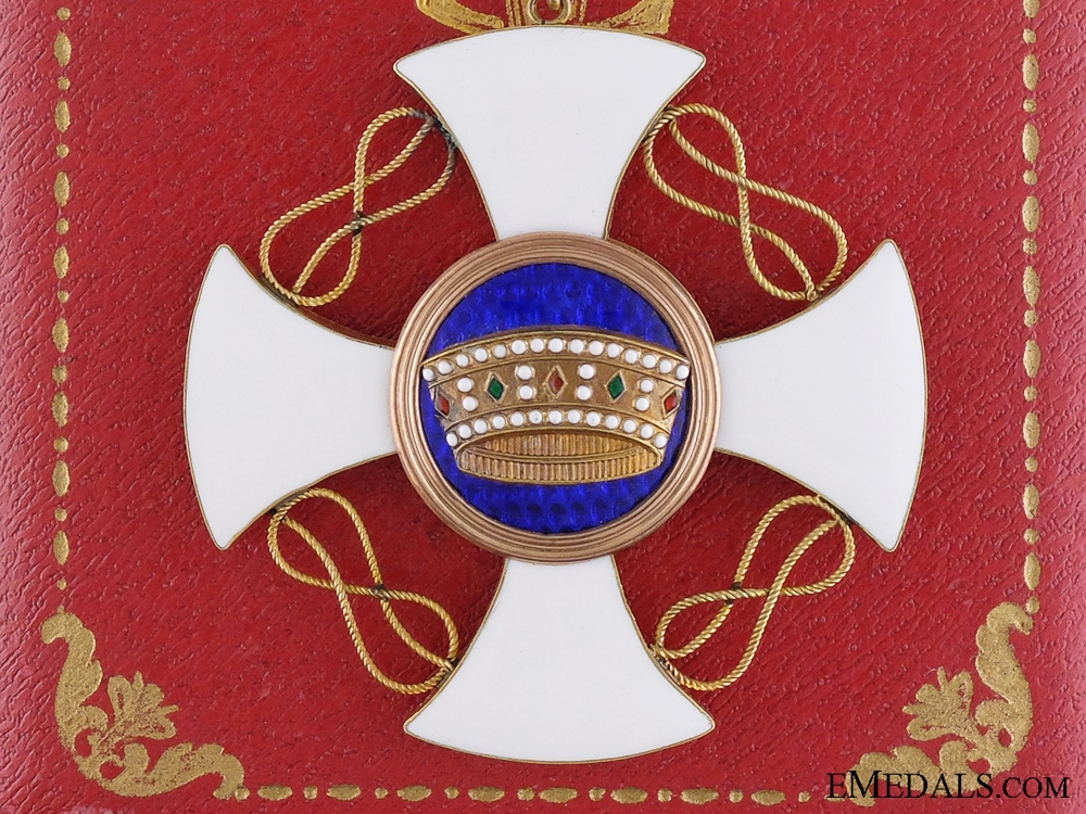 eMedals-An Italian Order of the Crown in Gold; Commander