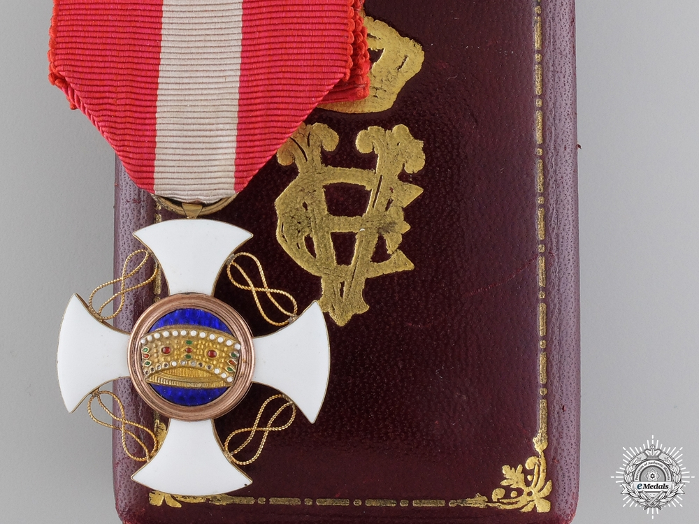 eMedals-An Italian Order of the Crown; Fifth Class