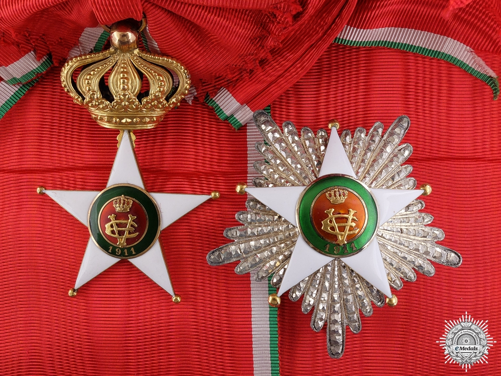 eMedals-An Italian Order of the Colonial Star in Gold; Grand Cross