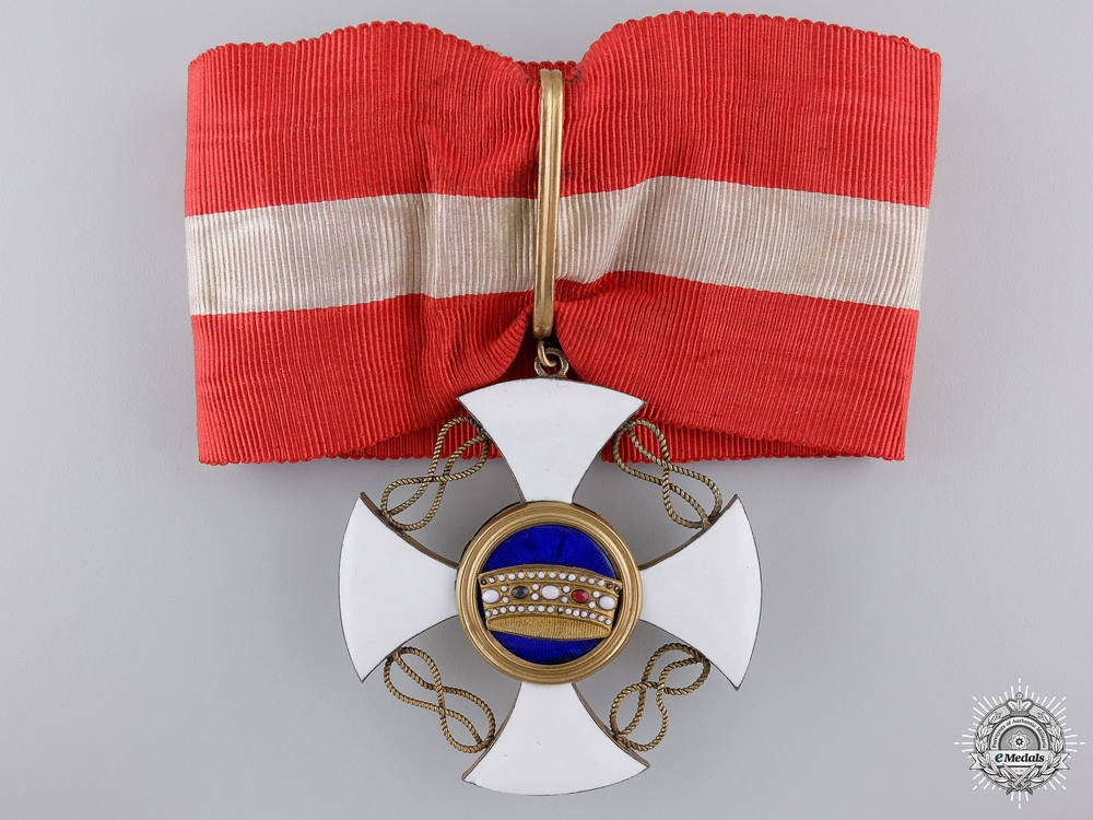 eMedals-An Italian Order of the Crown; Commander's