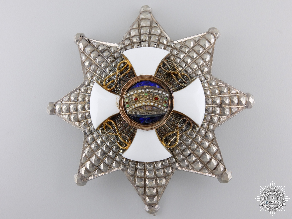 eMedals-An Italian Order of the Crown; Commanders Breast Star