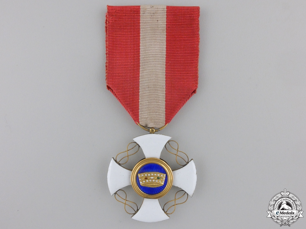 eMedals-An Italian Order of the Crown; Knight's Cross
