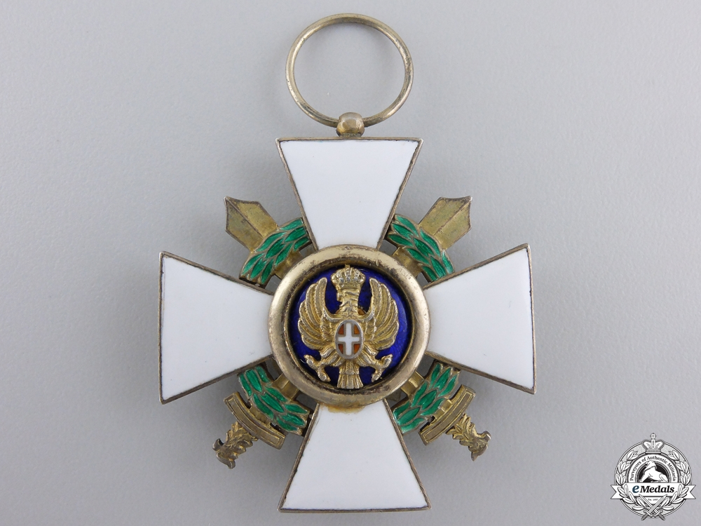 eMedals-An Italian Order of the Roman Eagle, Knight; Military 1942-1943