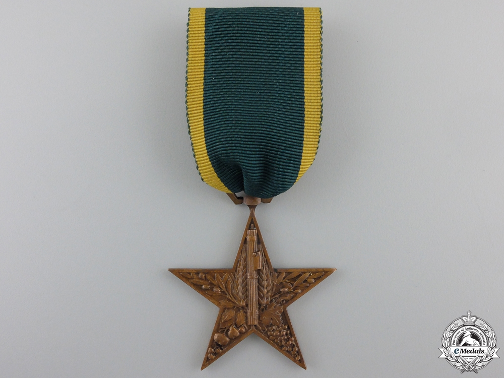eMedals-An Italian Rural Merit Star 1932; S.I.A.M. Roma Marked