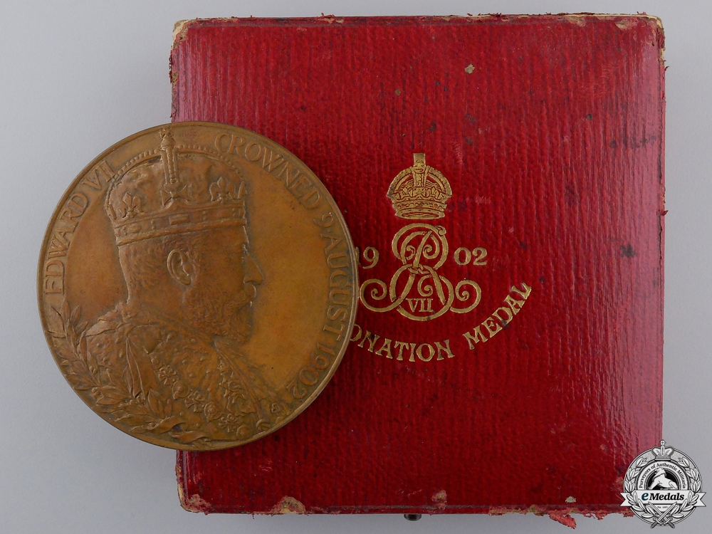 eMedals-An King Edward VII and Queen Alexandra Coronation Medal