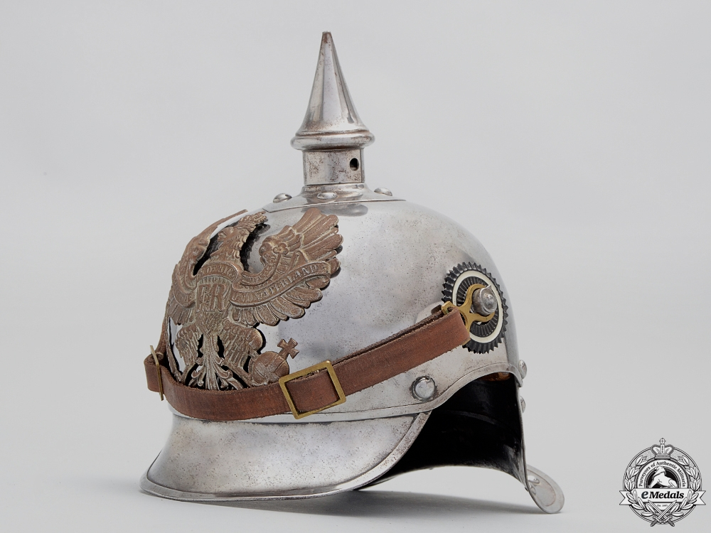 eMedals-An M15 Cuirassiers Lobster Tail Pickelhaube by Juncker
