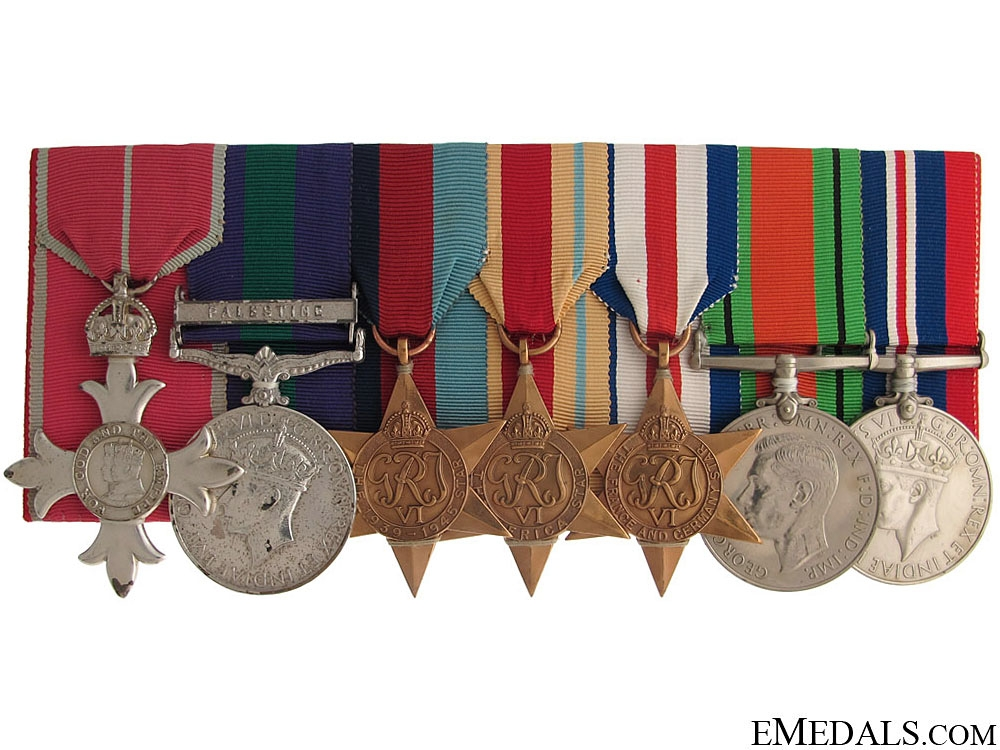 eMedals-An MBE Group of Seven