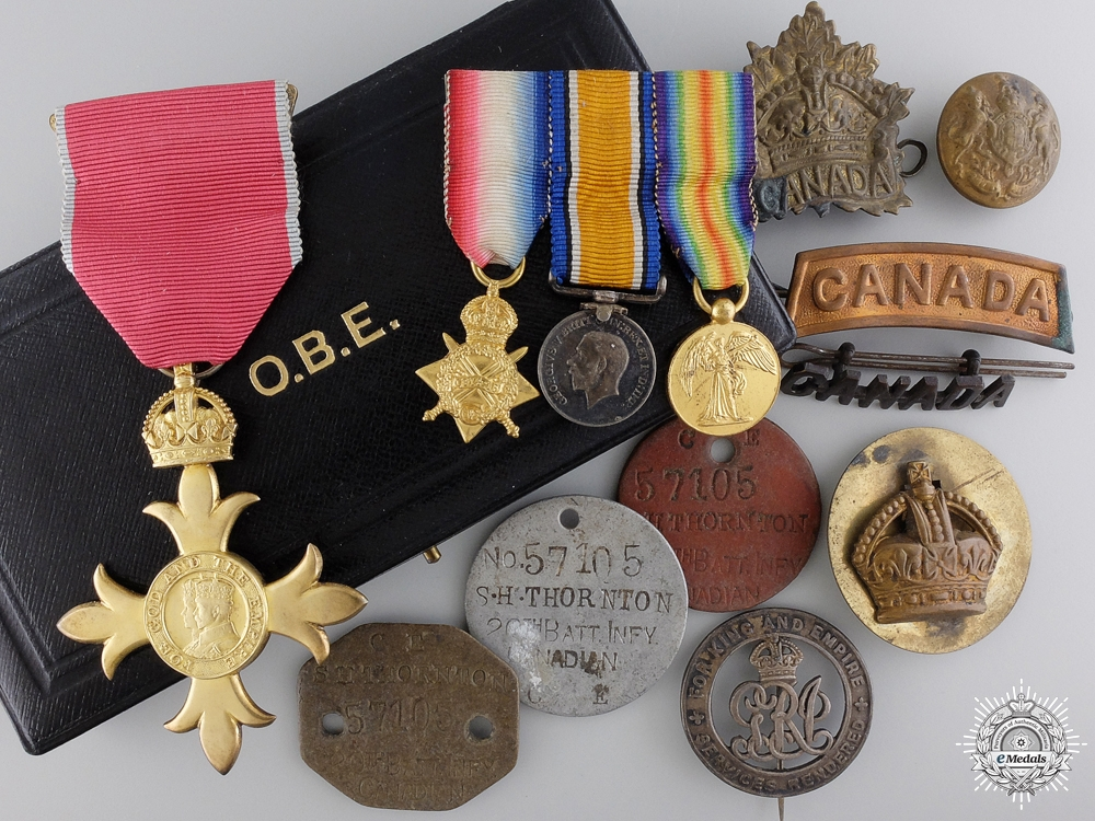 eMedals-An MBE Medal Group to the  20th Infantry Battalion