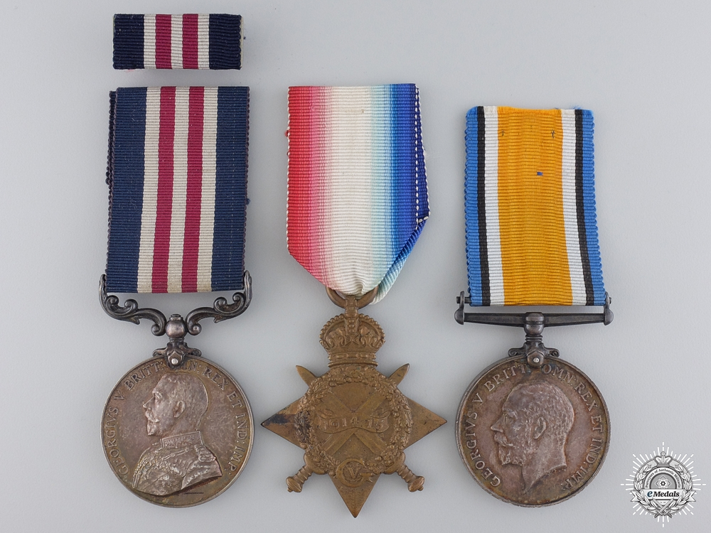 eMedals-A Military Medal Group to Private King  who was Killed at Vimy