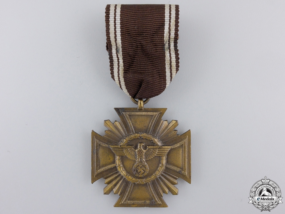 eMedals-An NSDAP Long Service Award for 10 Years by Frederick Orth