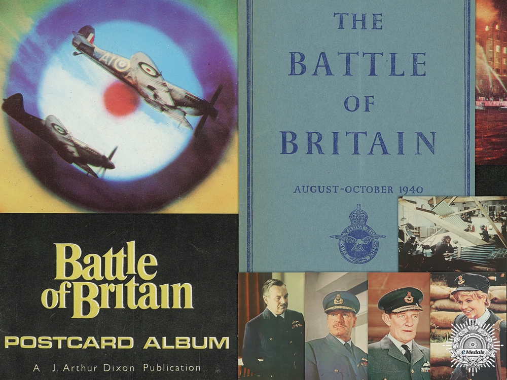 eMedals-An October 1940 RAF Battle of Britain Booklet