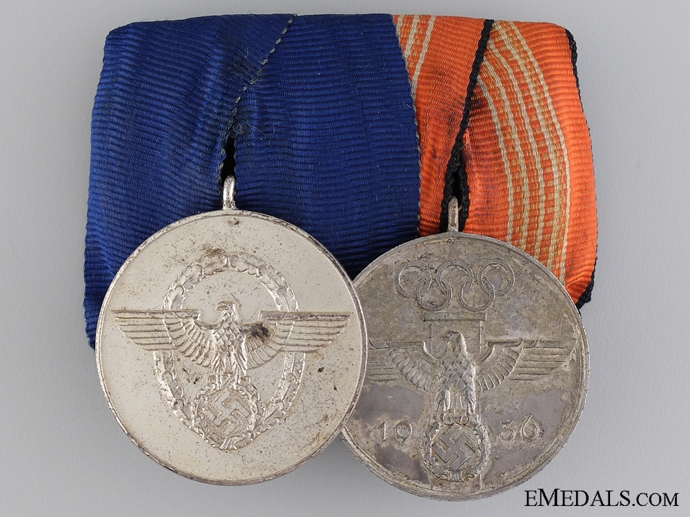 eMedals-An Olympic Third Reich Period Medal Bar