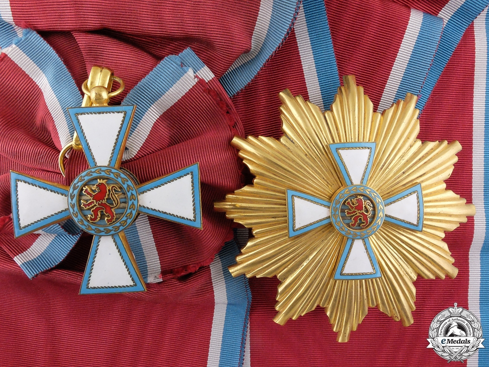 eMedals-An Order of Merit of the Grand Duchy of Luxembourg; Grand Cross