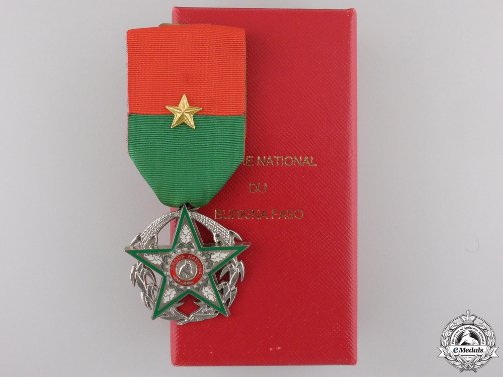 eMedals-An Order of National Merit of Burkina Faso; Knight