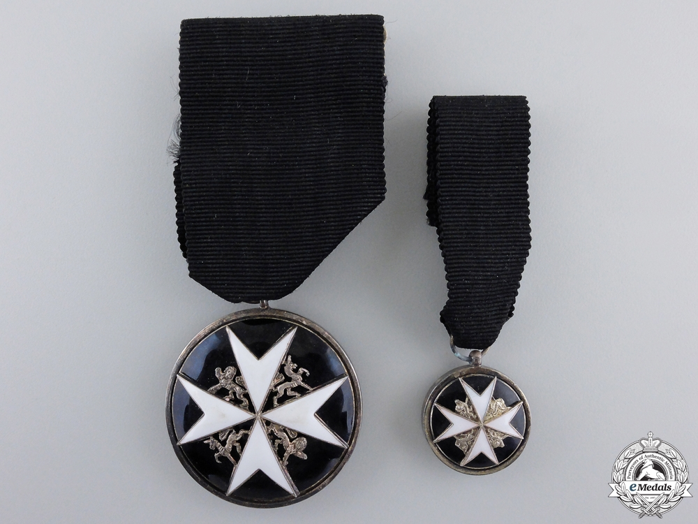 eMedals-An Order of St. John for Serving Brother Breast Badge