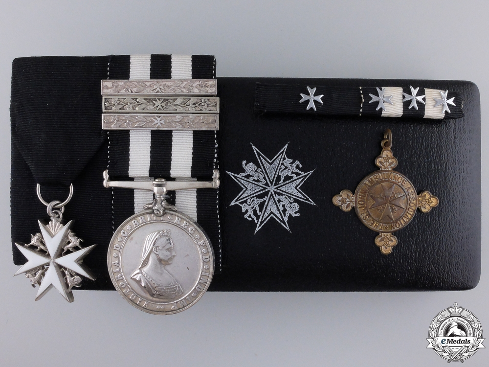 eMedals-An Order of St. John Pair to Gwendolyn Burn SJABO