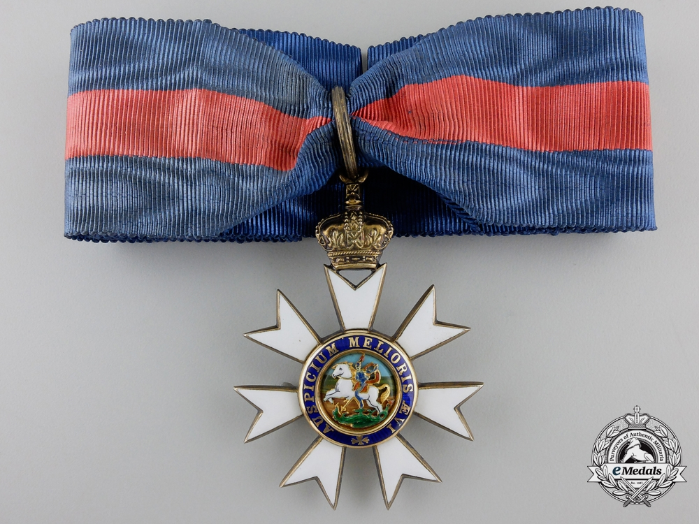 eMedals-An Order of St. Michael and St. George; Companions Neck Badge