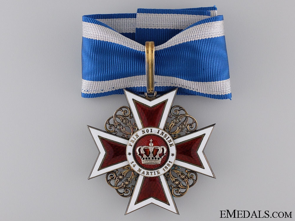 eMedals-An Order of the Crown of Romania; 3rd Class Commander